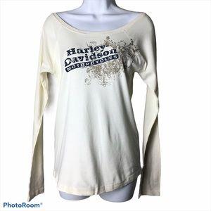 Harley Davidson Motorcycles Long Sleeve Tee
